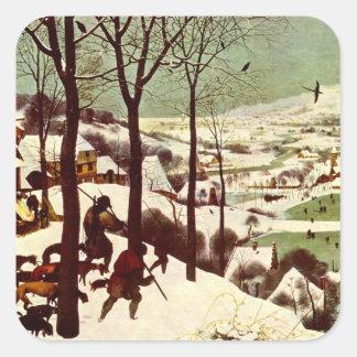 雪- 1565年のハンター スクエアシール