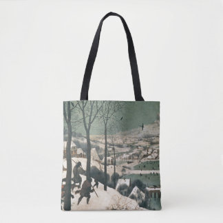 雪- 1565年1月のハンター トートバッグ