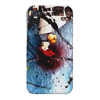 雪#1 4Gのiphoneカバーのポップコーン iPhone 4/4S ケース