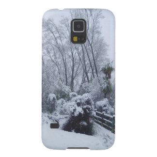 雪 GALAXY S5 ケース