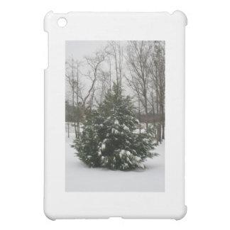 雪 iPad MINIカバー