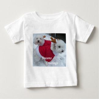 雪Babys ベビーTシャツ