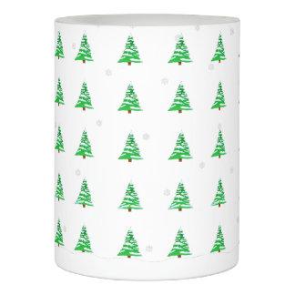 雪LEDの蝋燭のクリスマスツリー LEDキャンドル
