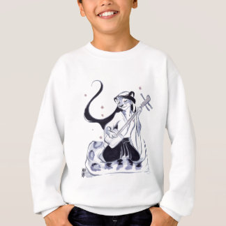 雪Pard Shamisen スウェットシャツ