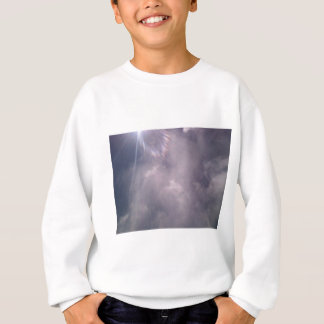 雲および光線 スウェットシャツ