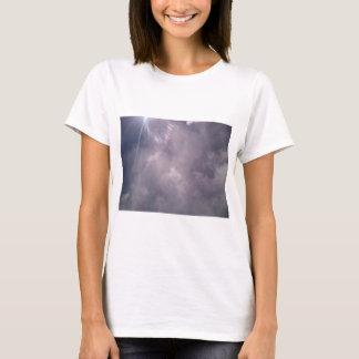 雲および光線 Tシャツ