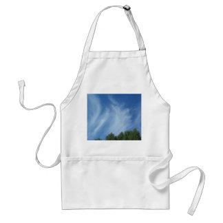 雲および木 スタンダードエプロン