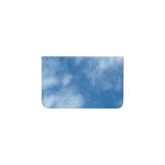 雲が付いている青空 名刺入れ
