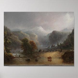 雲が休むことを愛するところアルフレッドヤコブの製造所 ポスター