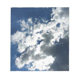 雲だけ ノートパッド