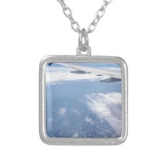 雲で失った シルバープレートネックレス