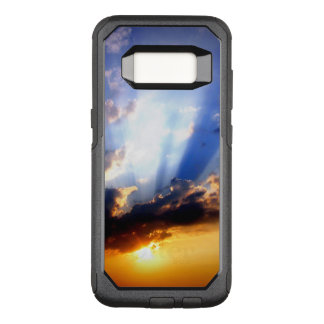 雲との日没、美しい空 オッターボックスコミューターSamsung GALAXY S8 ケース