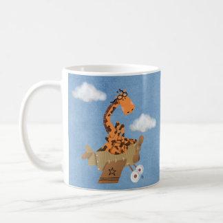 雲のキリン コーヒーマグカップ