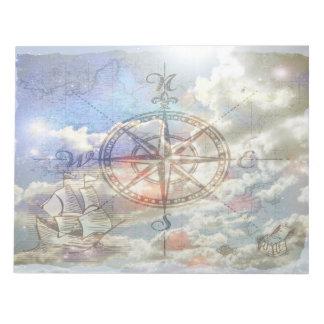 雲のコンパスのメモ帳 ノートパッド