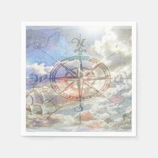 雲のコンパス スタンダードカクテルナプキン