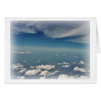 雲のスタンプ カード