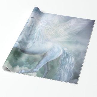 雲のダンサーのユニコーンの芸術のギフト用包装紙 ラッピングペーパー
