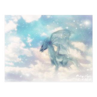 雲のドラゴンの郵便はがき ポストカード