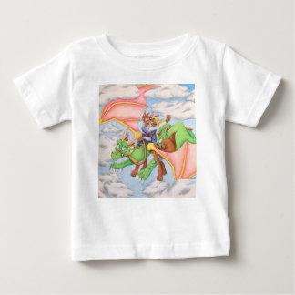 雲のドラゴンのTシャツのための範囲 ベビーTシャツ
