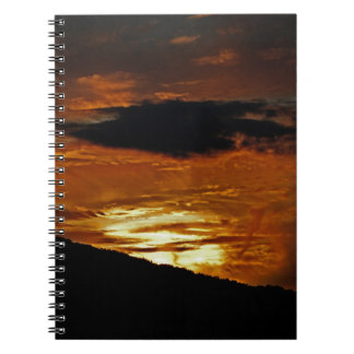 雲のノートの炎 ノートブック