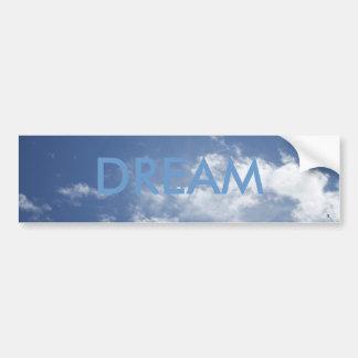 雲のバンパーステッカーの夢 バンパーステッカー