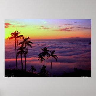 雲の上の日の出 ポスター