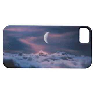 雲の上の月 iPhone 5 ベアリーゼアケース