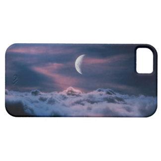 雲の上の月 iPhone SE/5/5s ケース