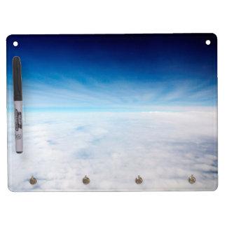 雲の上の空 キーホルダーフック付きホワイトボード
