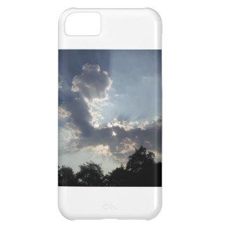 雲の写真が付いている携帯電話カバー iPhone5Cケース