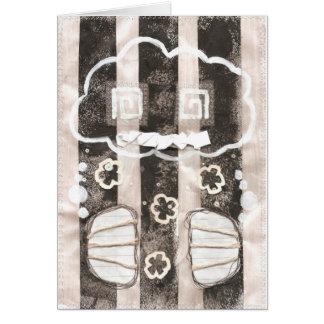 雲の刑務所の挨拶状 カード