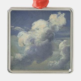 雲の勉強1832年 メタルオーナメント