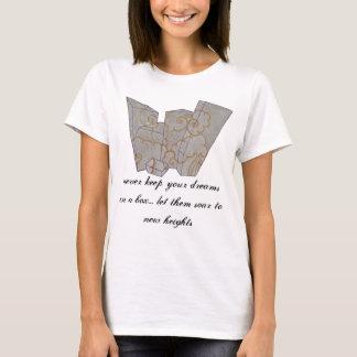 雲の圧縮 Tシャツ