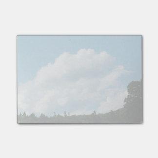 雲の大会の木 ポストイット