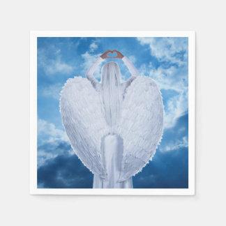 雲の天使 スタンダードカクテルナプキン