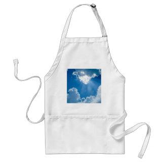 雲の天国光線 スタンダードエプロン