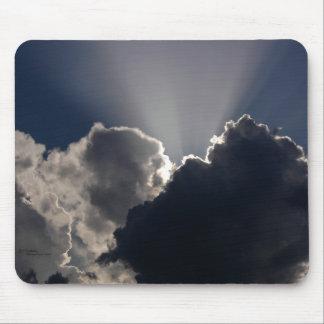 雲の太陽光線のマウスパッド マウスパッド