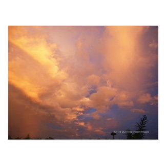 雲の後ろの日曜日の設定 ポストカード