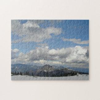 雲の後ろの青空 ジグソーパズル