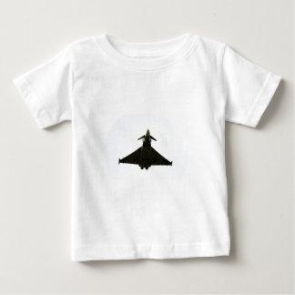 雲の戦闘機 ベビーTシャツ