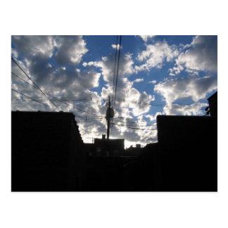 雲の朝 ポストカード