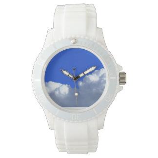 雲の腕時計 腕時計