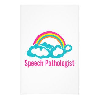 雲の虹の医療言語聴覚士 便箋