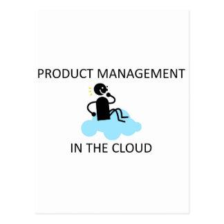 雲の製品管理 ポストカード