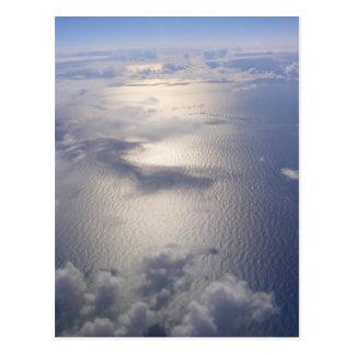 雲の郵便はがき(デザイン3) ポストカード
