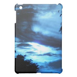 雲の青い日の出 iPad MINIケース