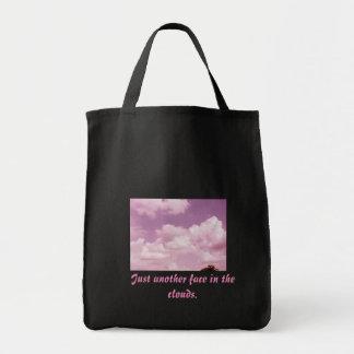 雲の顔 トートバッグ