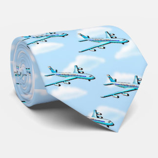 雲の飛行機 オリジナルネクタイ