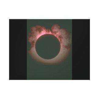 雲の。_Space場面の前の惑星 キャンバスプリント