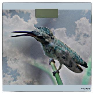 雲のBathのスケールのTourquoiseのハンマー 体重計